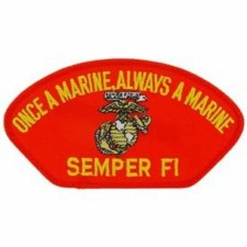 USMC Hat Semper Fi (Red)