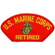 USMC Hat Retired Rd