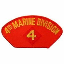 USMC Hat 4th Div