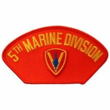 USMC Hat 5th Div