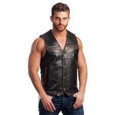 Men's Vintage Brown Vest