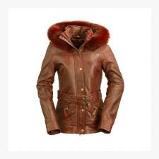 Ladies Elle Jkt W/Fox Fur Hood