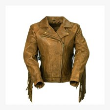 Ladies Jacket Daisy W/Fringe