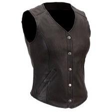 Ladies Derringer Vest Black