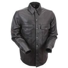 Men's Milestone Leather Shirt