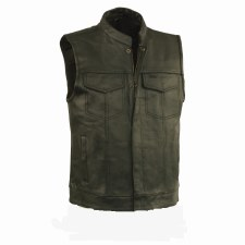 Men's Conceal Carry Vest Black