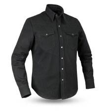 Men's Forsyth Canvas Shirt Blk