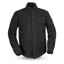 Men's Mercer Canvas Shirt Blk