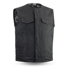 Men's Tough Rider Vest Black