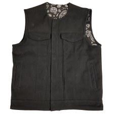 Kent Men's Vest W/Hoody