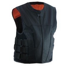 Men's Commando Vest Black