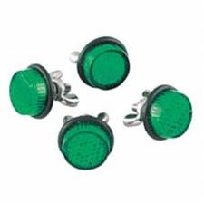 Reflectors 4 Pack Green