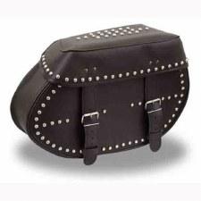 Studded Throw-Over Saddle Bag