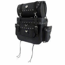 Leather Sissy Bar Bag