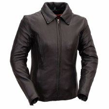 129 Vented Leather Jacket