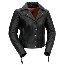 Ladies Updated M.C. Jacket