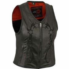 Ladies Reflective Star Vest