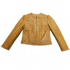 Ladies Quilted Jacket Whiskey
