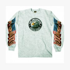 Men's LS T-Shirt Down Flags