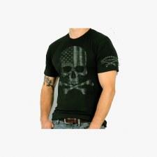 Men's Faded Skull T-Shirt