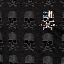 Men's Skull Pattern T-Shirt