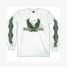 Men's LS Shirt Flaming Upwing