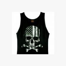 Men's TT Flag Skull Tank Top