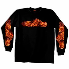 Fire Bike Shirt