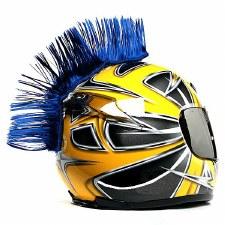 Mohawk Helmet Accessory Blue