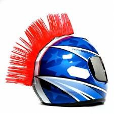 Mohawk Helmet Accessory Red