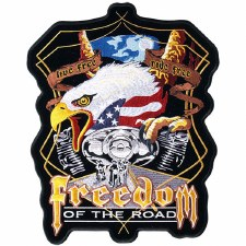 Freedom Of The Road Patch