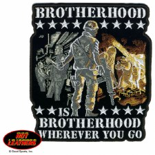 Brotherhood Patch 10""