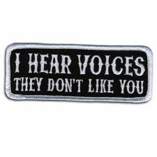 I Hear Voices Patch