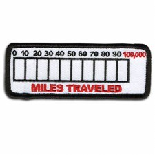 Miles Traveled Patch