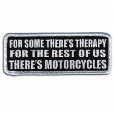 There's Motorcycles Patch