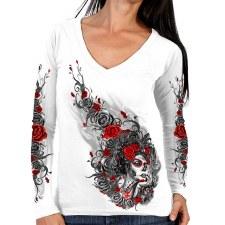 Ladies LS T-Shirt Sugar Woman
