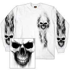 Men's Ghost Skull Shirt