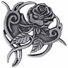 Tribal Rose Pin