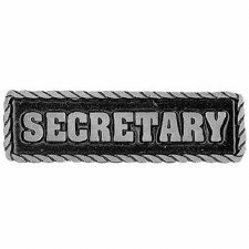 Pewter Pins Secretary