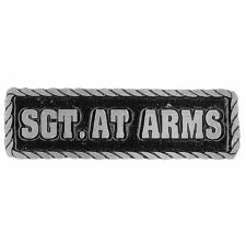 Pewter Pins Sgt. At Arms