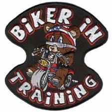 Biker In Training Patch