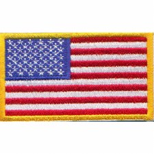American Flag Patch 3x5
