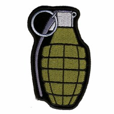 Grenade Patch Olive Green