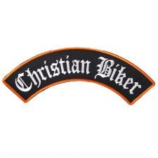 Christian Biker Rocker Patch