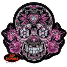 "Color Sugar Skull 8""X8"""