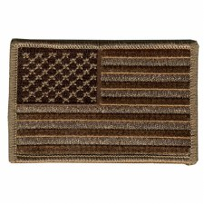 American Flag Brown