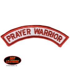 Prayer Warrior Patch