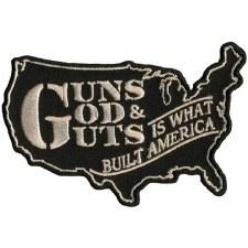 Guns God Guts Patch