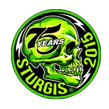 Sturgis 75th Side Skull Patch