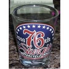 76th Logo Shot Glass